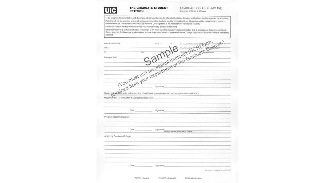 General Petition Sample
