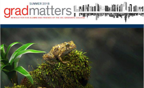 Summer 2018 Grad Matters
