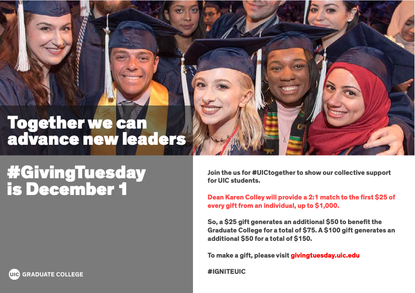 Graduate College Giving Tuesday