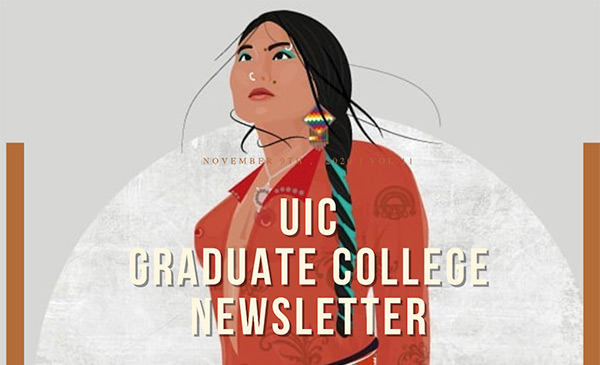 Native woman illustration.