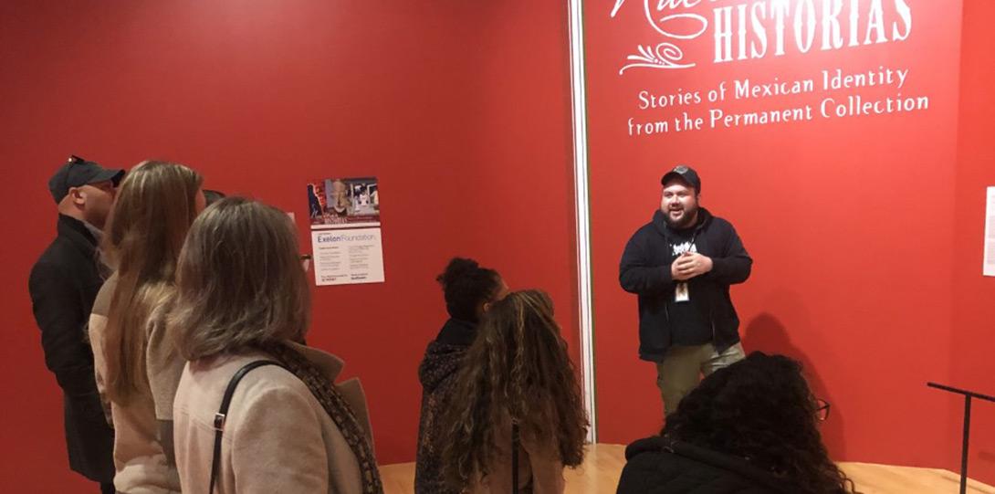 PIF Fellow showcasing exhibit