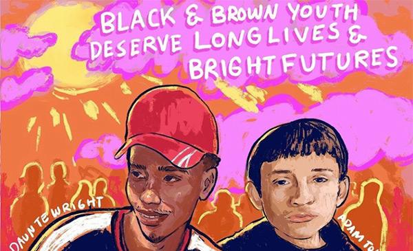 Duante Wright and Adam Toledo